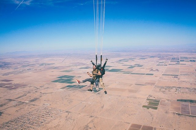 Skydiving Famous Places