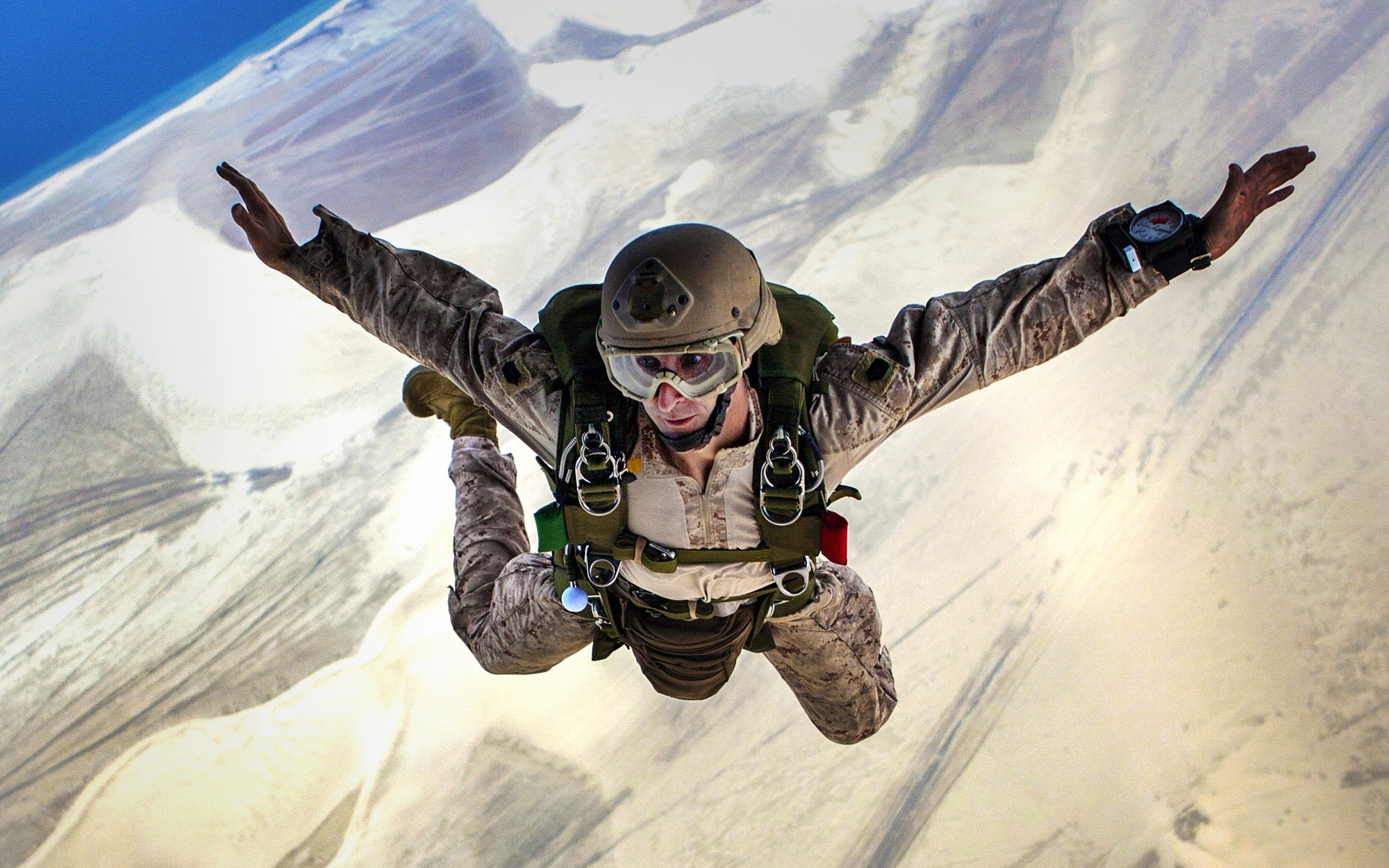 skydiving gear military discount