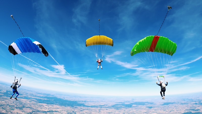 best place to do skydiving